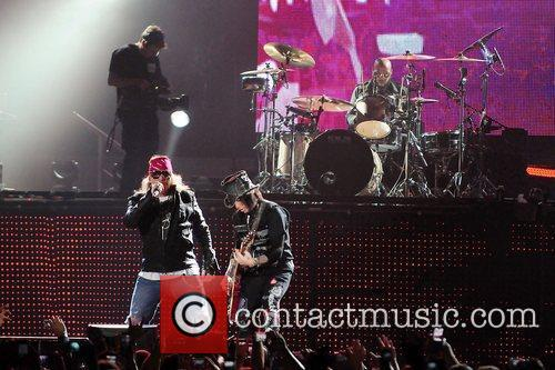 Axl Rose and Guns N Roses 11