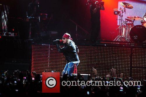 Axl Rose and Guns N Roses 9