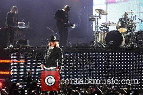 Axl Rose and Guns N Roses 8