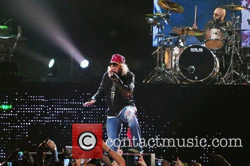 Axl Rose and Guns N Roses 2