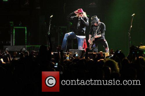 Axl Rose and Guns N Roses 3