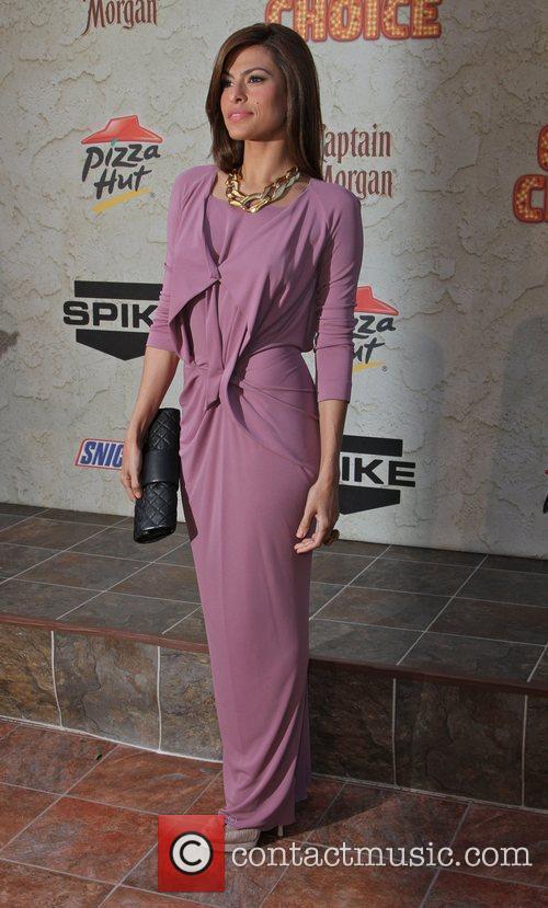 Eva Mendes Spike TV's 5th Annual 2011 'Guys...