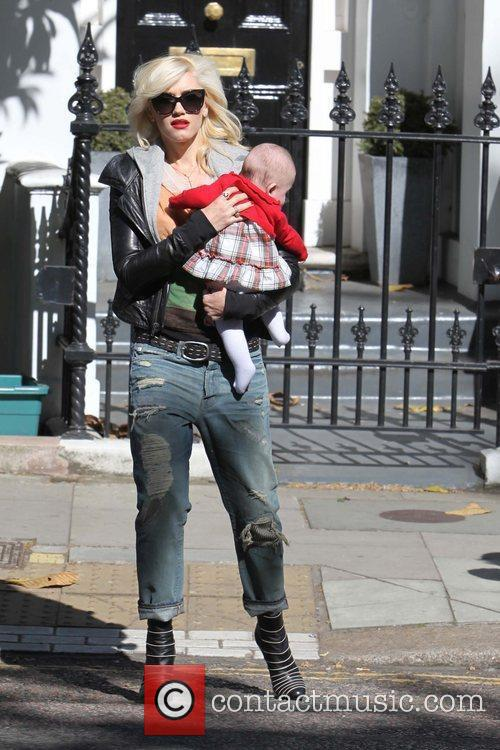 Gwen Stefani out and about on a sunny...