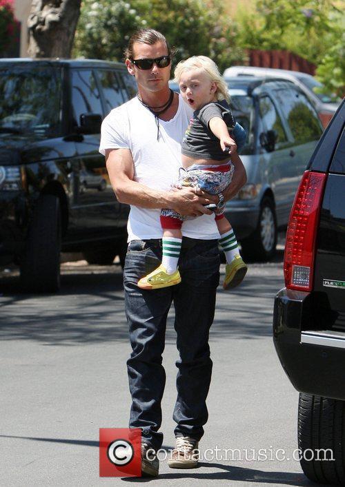 Gavin and Zuma Rossdale  Gwen Stefani and...