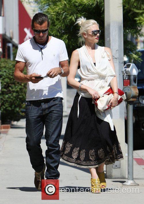 Gavin Rossdale and Gwen Stefani 7