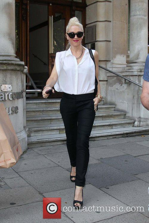 Gwen Stefani out and about in central London...