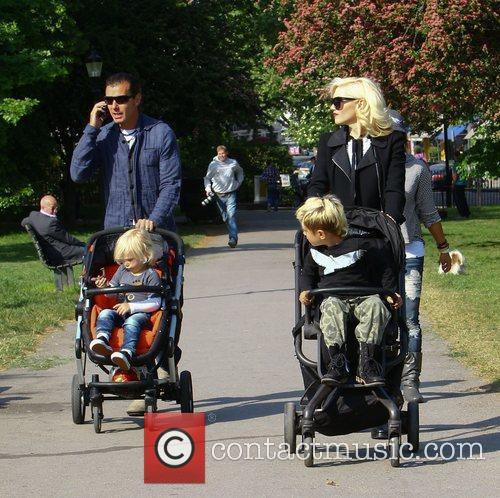 Gavin Rossdale and Gwen Stefani 2