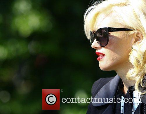 Gwen Stefani Gwen Stefani and family out and...