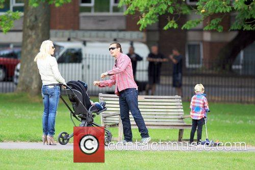 Gwen Stefani and Gavin Rossdale in Primrose Hill...
