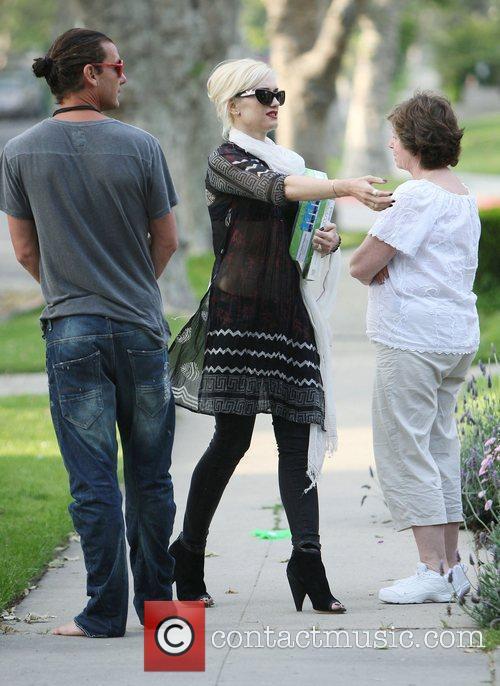 Gwen Stefani, Jean Harlow and Rooney 4