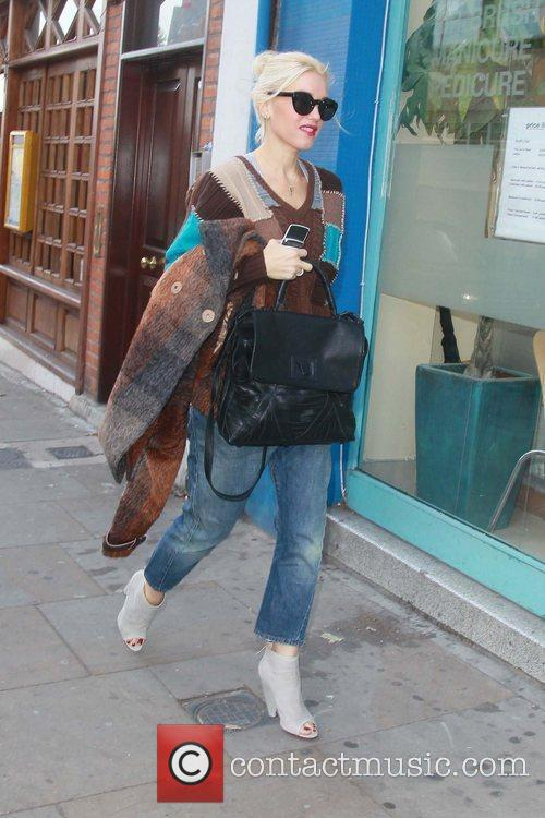 Gwen Stefani out and about in North London...