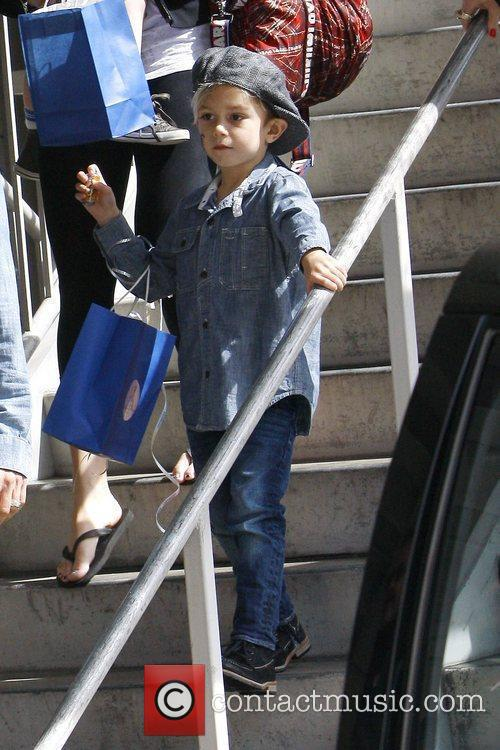 Gwen Stefani's son Kingston Rossdale out and about...