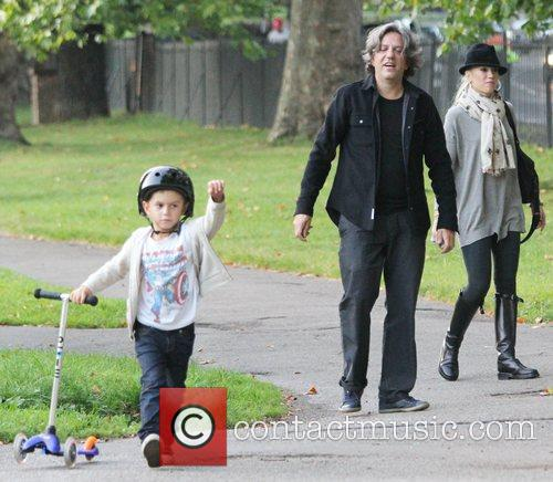Gwen Stefani and her son Kingston Rossdale take...