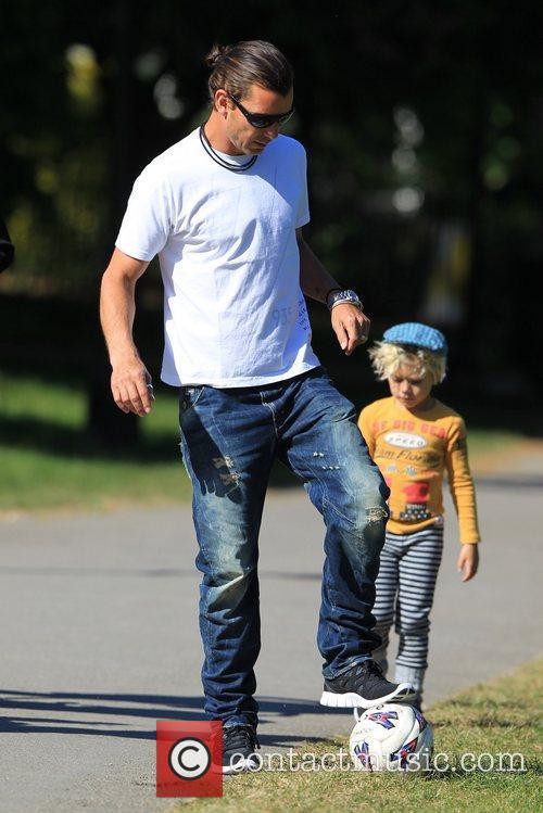 Gavin Rossdale, Kingston  Gwen Stefani and family...