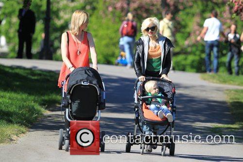 Gwen Stefani, Zuma  Gwen Stefani and family...