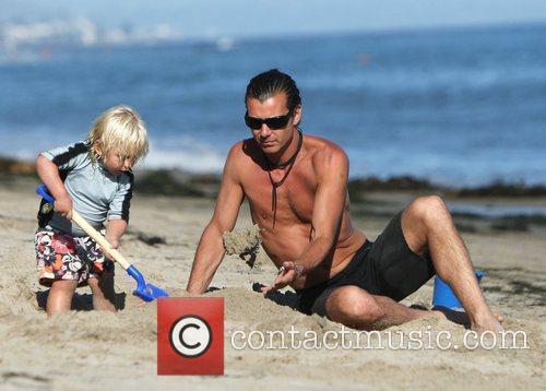 Gavin Rossdale, Malibu Beach