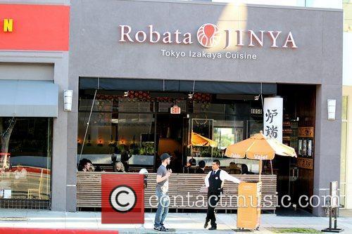 Atmosphere Robata Jinya Japanese restaurant where Gwen Stefani...