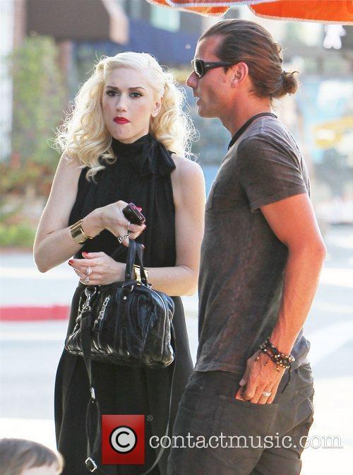 Gwen Stefani and Gavin Rossdale outside a Japanese...