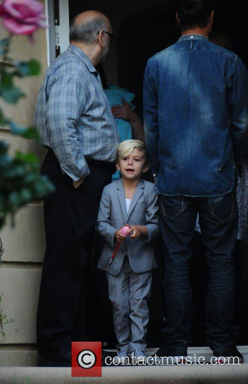 Gwen Stefani, husband Gavin Rossdale and their sons...