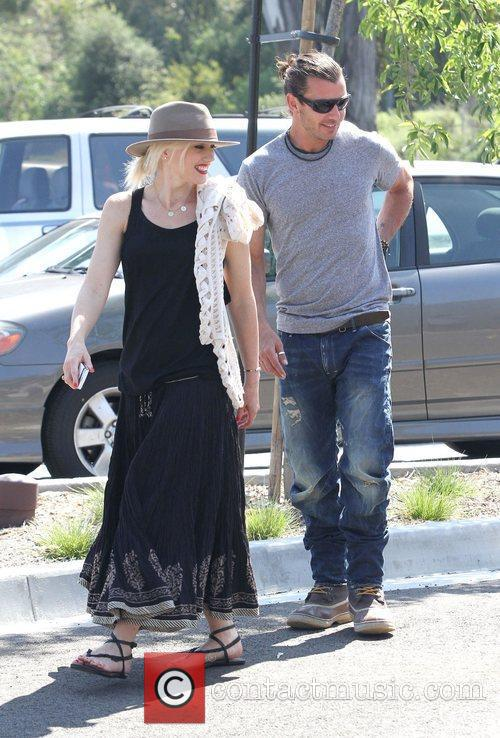 Gwen Stefani and Gavin Rossdale at Los Angeles...