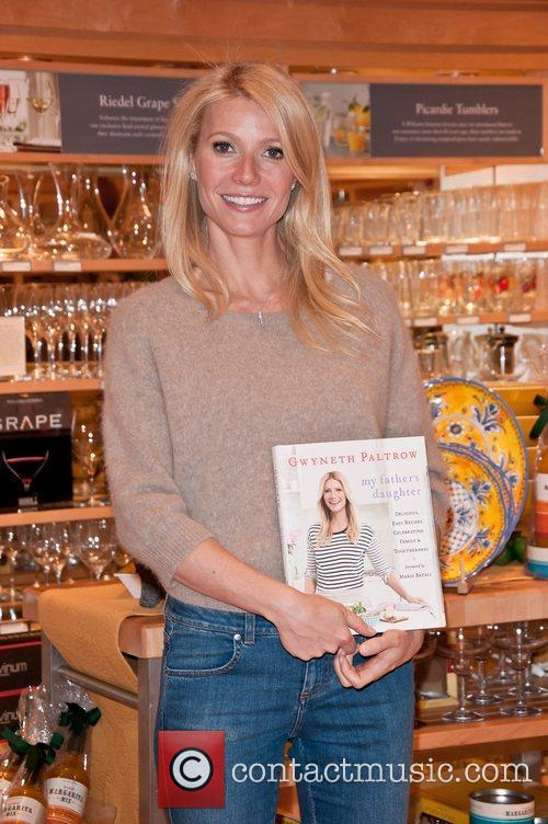 Signs copies of her new cookbook 'My Father's...