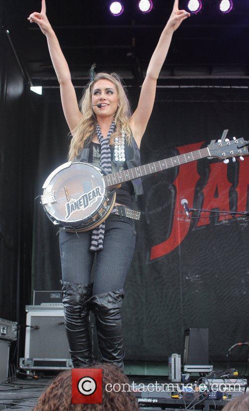 Danelle Leverett The JaneDear girls perform during the...