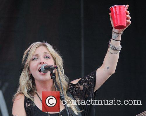 Sunny Sweeney performs during the H2O Tour 2...