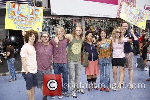 Broadway's Hair Summer Of Love Swarm-In held in...