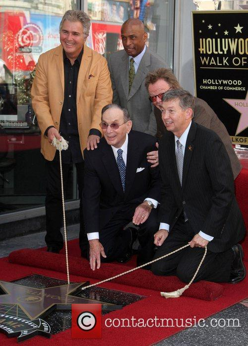Steve Tyrell, Paul Williams and Walk Of Fame 4