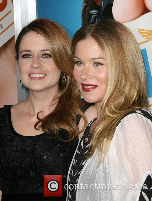 Jenna Fischer and Christina Applegate 4