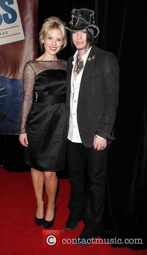 Nicky Whelan and DJ Ashbaa The Australian premiere...