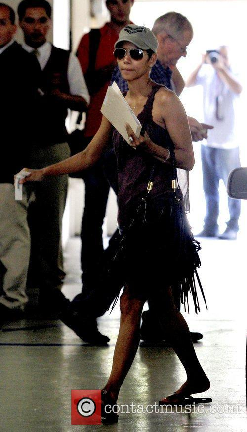 Halle Berry   out and about in...