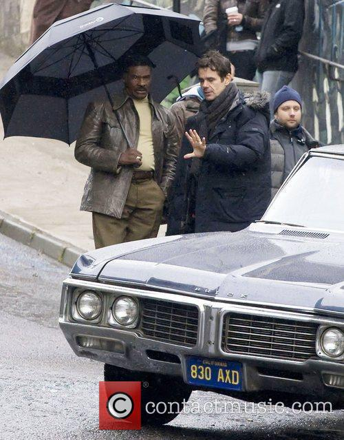 Tom Tykwer and Keith David 3