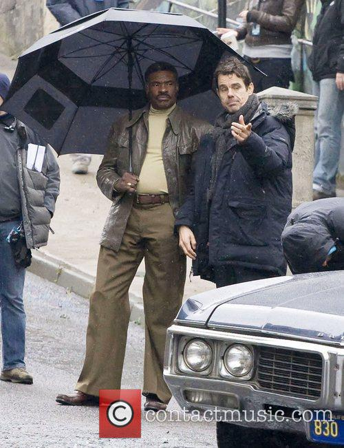 Tom Tykwer and Keith David 1