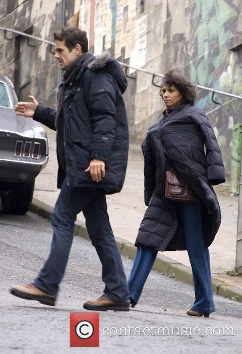 Tom Tykwer and Halle Berry 2