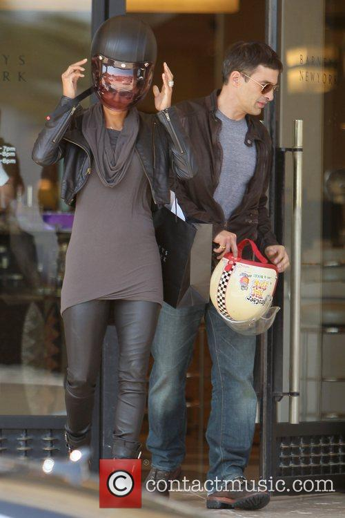 Halle Berry, Helmet and Olivier Martinez 5