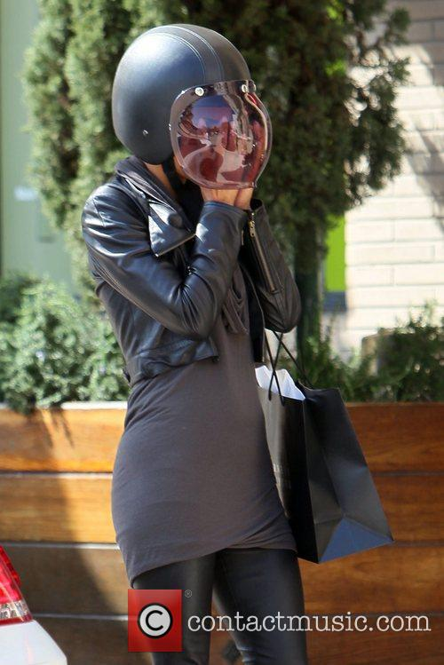 Halle Berry and Helmet 3