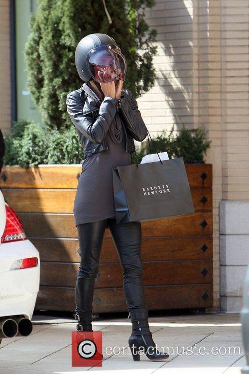 Halle Berry and Helmet 4