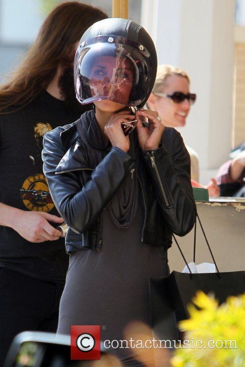 Halle Berry and Helmet 5