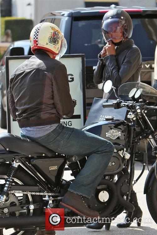 Halle Berry, Helmet and Olivier Martinez 20