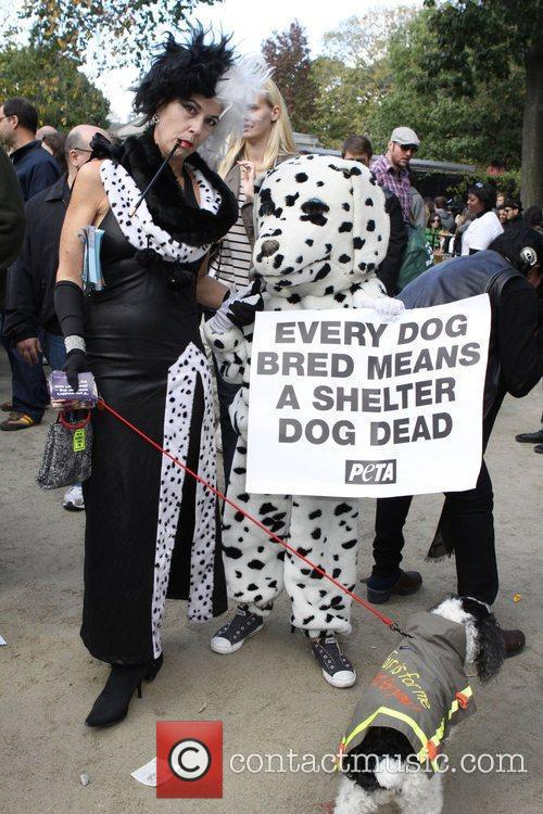 PETA dogs The 21st Annual Tompkins Square Halloween...