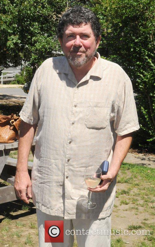Tom Calvin,  at the Hamptons for Haiti...
