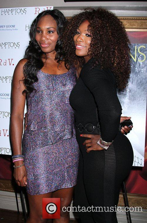 Venus Williams, Celebration and Serena Williams 6