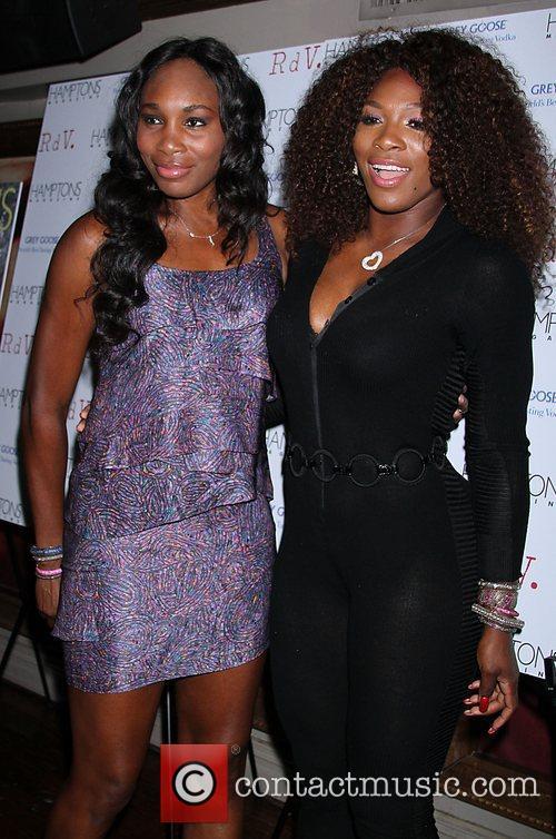 Venus Williams, Celebration and Serena Williams 3