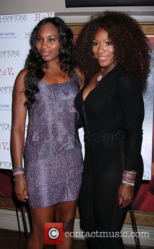 Venus Williams, Celebration and Serena Williams 4