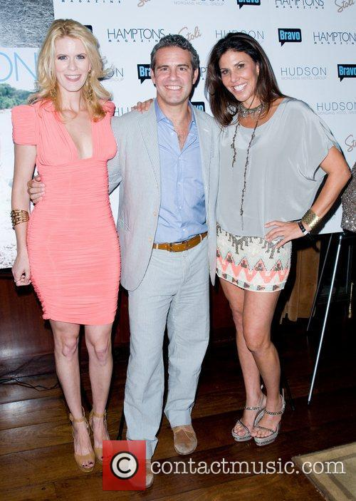 AlexMcCord, Andy Cohen and Sindy Barshop Hamptons Magazine's...