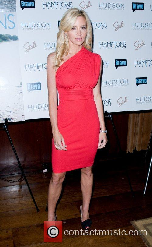 Camille Grammer Hamptons Magazine's celebration with cover star...