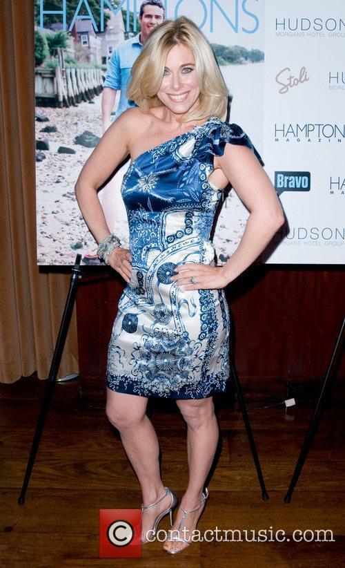 Erica Katz Hamptons Magazine's celebration with cover star...