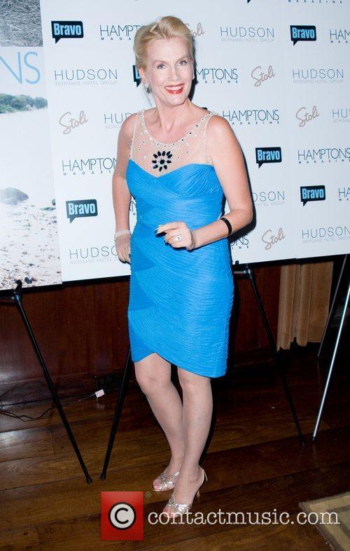 Gunilla Persson Hamptons Magazine's celebration with cover star...