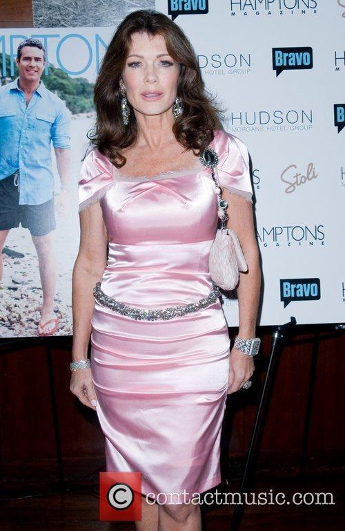 Lisa Vanderpump Hamptons Magazine's celebration with cover star...